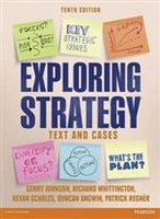 Exploring Strategy Text & Cases | 9781292002545